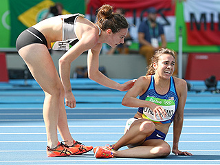 U.S. Runner Abbey D'Agostino Shows True Olympic Spirit After Helping Rival Cross Finish Line After Mid-Race Collision