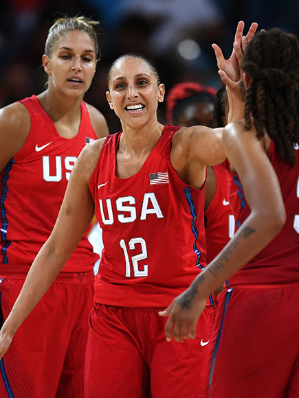 Rio 2016 u s women s basketball beats france in semifinal people