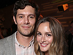 Adam Brody and Leighton Meester Make Rare, Super Cute Public Appearance