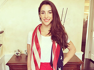 Hometown Hero! Aly Raisman Celebrates Her Return to the U.S. with 'Aly Raisman Day'