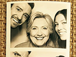 See Hillary Clinton Hit the Photo Booth with Justin Timberlake and Jessica Biel at L.A. Fundraiser