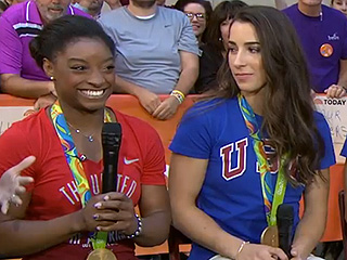 WATCH: Is Simone Biles Really Dating Her 'Brazilian Boyfriend!?' Is Aly Raisman Excited for Her Date with Raiders' Tight End Colton Underwood?!