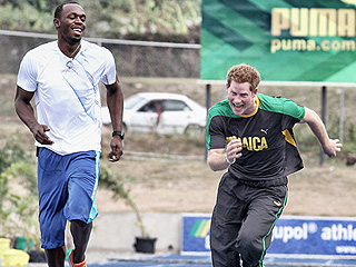 See Prince Harry's Funny Birthday Wish to Usain Bolt – and His Request for a Rematch!