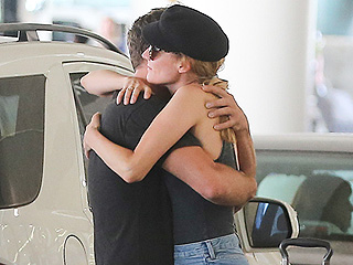 Exes Diane Kruger and Joshua Jackson Hug at Airport: 'They Said They Would Remain Friendly,' Source Says