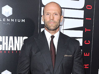 Jason Statham On Working with Mechanic: Resurrection Costar Jessica Alba: 'She's a Real Sweetheart'