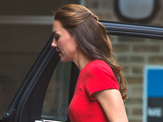All About Princess Kate's Elegant (and Easy to Get!) Half Updo
