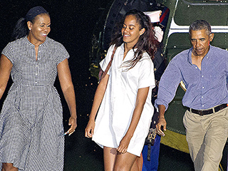 The Obamas Have Landed! First Family Returns from Martha's Vineyard – and the President Has a Hard Road Ahead