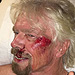 Billionaire Richard Branson Says He Cheated Death After Violent High-Speed Bike Crash