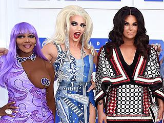 RuPaul's Drag Race All Stars Cast Recreate Iconic Looks of VMAs Past