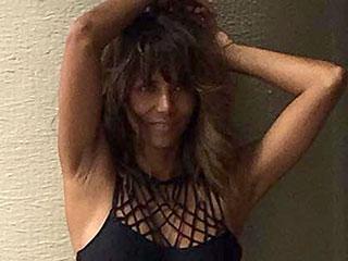 Halle Berry Looks Flawless in a Bikini at 50