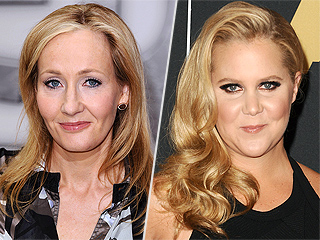 J.K. Rowling Calls Amy Schumer a 'Goddess' in Twitter Exchange That Delights Muggles Everywhere