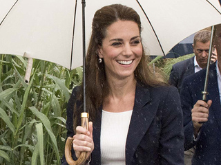 Princess Kate's Rainy Day Style Includes $30 Pants from Gap!