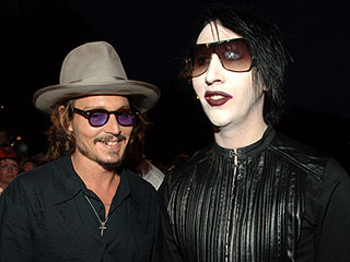 Marilyn Manson Says Johnny Depp Was 'Unjustly Crucified' in Divorce