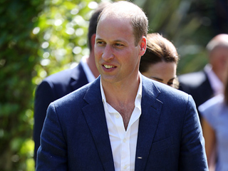 Watch Prince William Go Into Total Dad Mode When He Meets a Couple of Adorable Kids