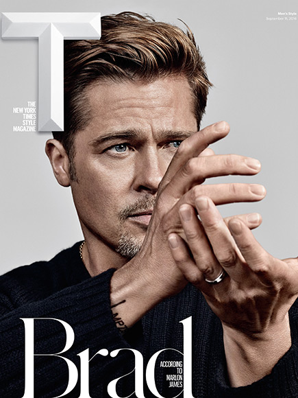 Brad Pitt Talks Donald...