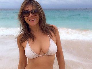 Elizabeth Hurley Shows Off Her Stunning Bikini Body at 51
