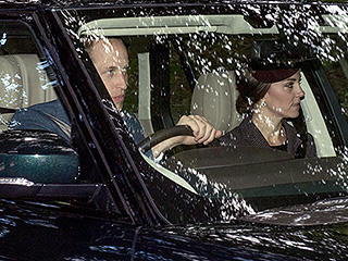 Royal Racers! Prince William Takes the Wheel with Princess Kate as the Royal Family Heads to Church