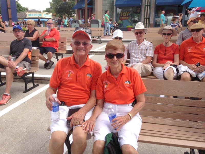 Florida Couple Married 52 Years Have Worn Coordinating Outfits for Decades: 'We Match Deep Down Too'  Real People Stories, The Daily Smile