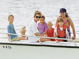 Royal #TBT: See 8-Year-Old Prince Harry on Vacation with Mom Princess Diana (with Toads!)