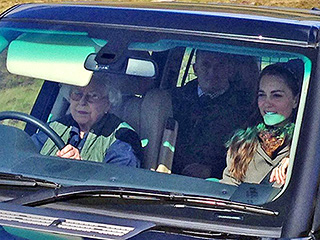 Granny's at the Wheel! Queen Elizabeth Takes Princess Kate Out for a Weekend Drive in Balmoral