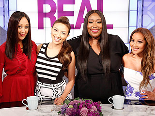 Find Out Which of Adrienne Bailon's The Real Co-Hosts Is Whipping Her into Wedding Gown-Ready Shape