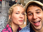 Newlyweds Anna Camp and Skylar Astin Celebrate Their Birthdays After Returning from Honeymoon