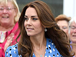 Princess Kate Goes Back to School in Stunning Sky Blue Dress – and Wows with Sexy Slit!