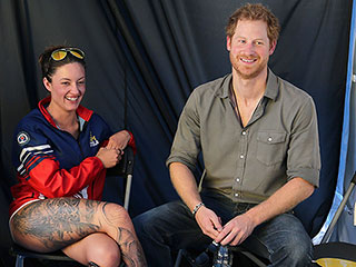 Paralympic Swimmer and Friend of Prince Harry Wins Gold Medal