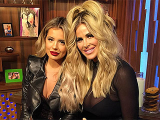 Kim Zolciak-Biermann Explains Why She Let Daughter Brielle Get Lip Fillers: 'Why Not? Shoot it Up!'