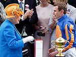 See the Queen's Ultimate Matching Moment – and the Gown Known as a 'Tour de Force'