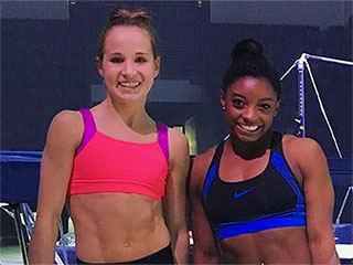 Simone Biles and Madison Kocian Are Already Back to Training After Olympics – This Time for Their National Tour