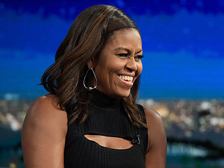 WATCH: Michelle Obama Shares Her Barack Impression – and Reveals He's Totally Into 'Gossip'