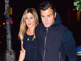 Jennifer Aniston and Justin Theroux Step Out for a Date Night in N.Y.C.