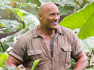 It's a Jungle Out There! The Rock and Kevin Hart Share First Photo of Jumanji Reboot