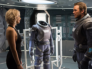 FROM EW: Passengers Trailer Lifts Off with Jennifer Lawrence & Chris Pratt