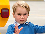 High Five, Low Five ... No Five: Prince George Leaves Justin Trudeau Hanging During Canada Visit
