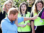Prince Harry Does 'the Dab' with Group of Girls in Scotland – and They Completely Freak Out!
