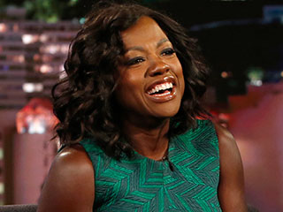 Viola Davis Tells Jimmy Kimmel She Had Hot Flashes at the Emmys