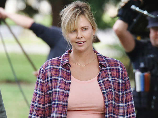 Charlize Theron Has a Fuller Figure for New Film Role as Mother of Three