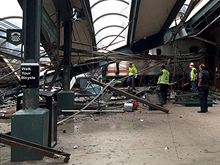 Multiple Injuries at New Jersey Commuter Station as Train Crashes into Station