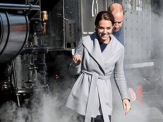 See 3 Generations of Royals Hop the Canadian Rails!