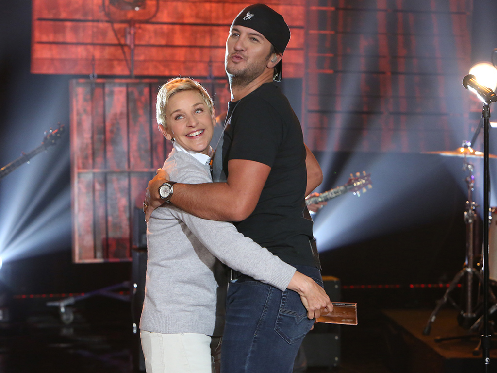 luke bryan on ellen no butttouching rule and his 40th