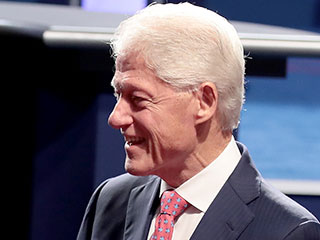 Bill Clinton Meets Melania Trump: See Who Else Was on the Debate Guest List