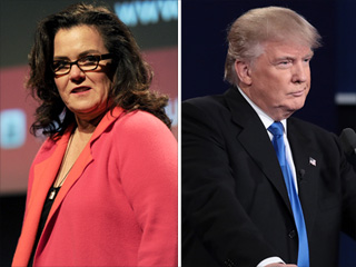 Rosie O'Donnell Responds to Donald Trump's Bashing During Debate, Calls Him an 'Orange Anus'