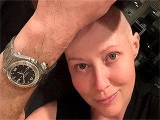 Shannen Doherty Reveals Hair Is Growing Back After Cancer Treatment in Sweet Snap With Her Husband