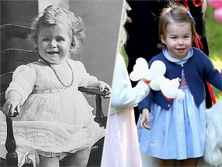 Proof That Princess Charlotte Is the Queen's Ultimate Mini-Me