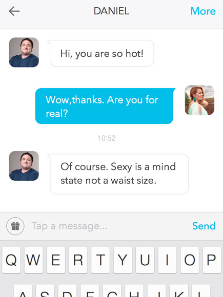 Curvy Girls, There's Now a Tinder-like Dating App Just for You!| Body shaming, Bodywatch