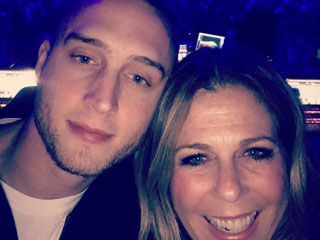 Rita Wilson and Son Chet Hanks Enjoy Family Night Out at Justin Bieber Concert