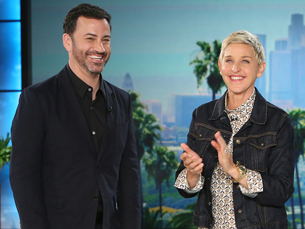Jimmy Kimmel Ellen DeGeneres Parenting Interview
