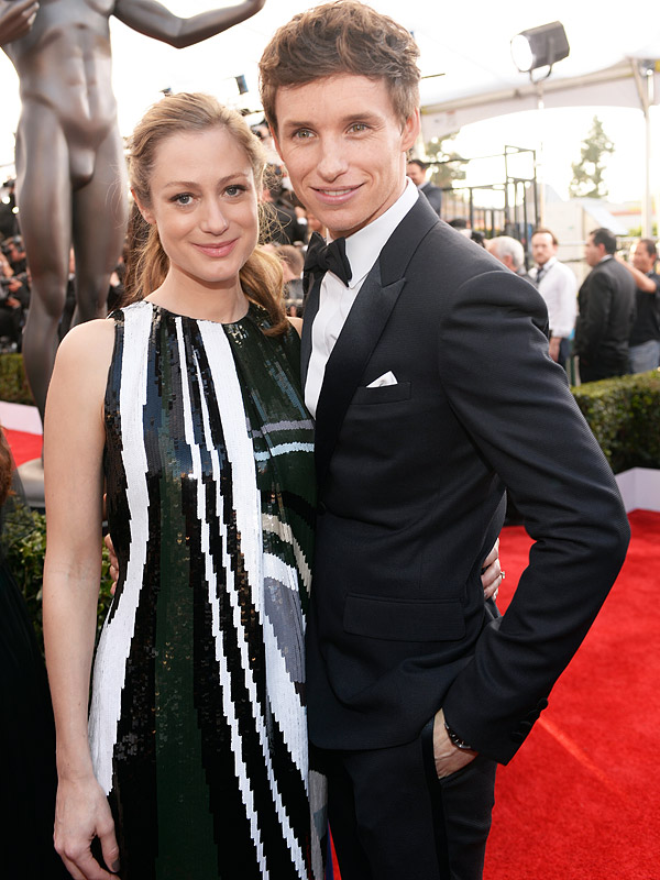 SAG Awards Eddie Redmayne wife Hannah